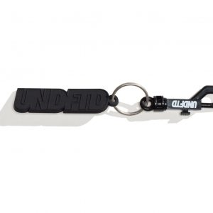 Rubber Keychain – Black