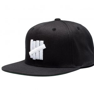 5 Strike Snapback – Black