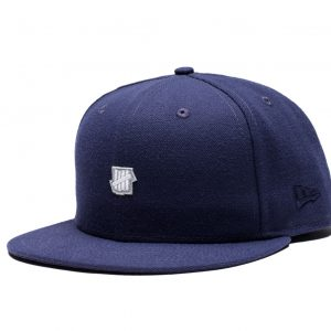 Small 5 Strike Fitted Cap – Navy