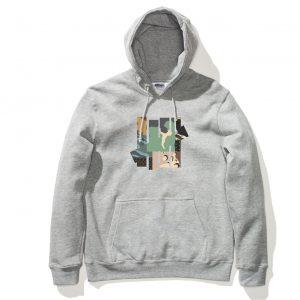 Patchwork Hood – Grey