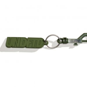 Rubber Keychain – Olive